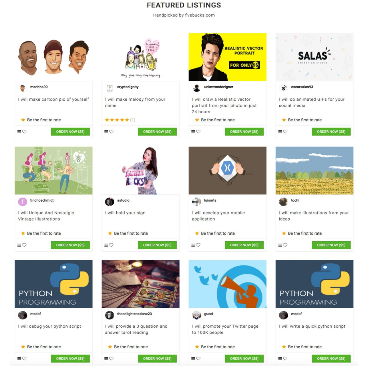 Fivebucks.com: Meet the Freelancer's Marketplace Powered by Bitcoin Cash