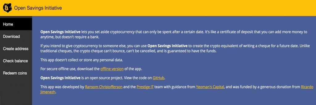New App Allows Users to Create a Custodian-Free Bitcoin Trust