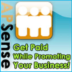 Apsense get paid while promoting uour business